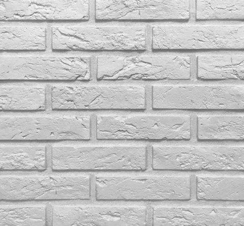 Клинкервиль 905, цвет белый - Искусственная плитка под покраску для имитации кирпичной кладки