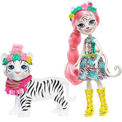 Тэдли белый тигр и Китти. Энчантималс