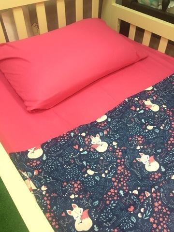 Комплект постельного белья Лисички 2