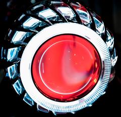 Глаз Дракона (подсветка для биксеновых линз) (RED)