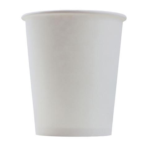 Стакан одноразовый Формация бумажный белый 165 мл 100 штук в упаковке