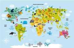 Игровое поле Карта мира