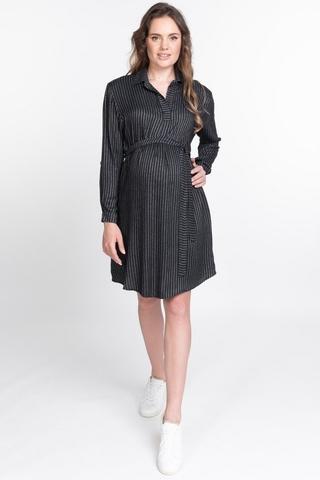 Платье для беременных 10922 антрацит