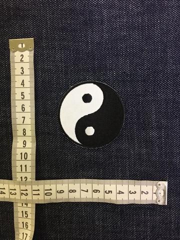 Нашивка Инь-Янь размеры