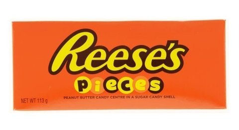 Драже из арахисовой пасты Reese's Pieces Theater Box в цветной хрустящей глазури