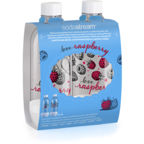 Набор из 2 Бутылок по 1Л Jet (2х1Л) Love Raspberry