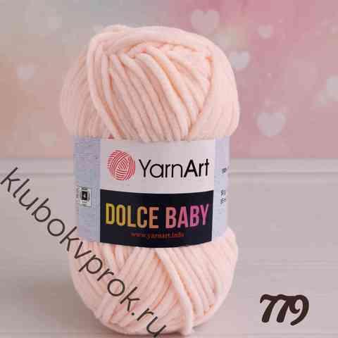 YARNART DOLCE BABY 779, Светлый персик