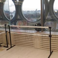 Мобильный балетный станок М4-2 двухрядный