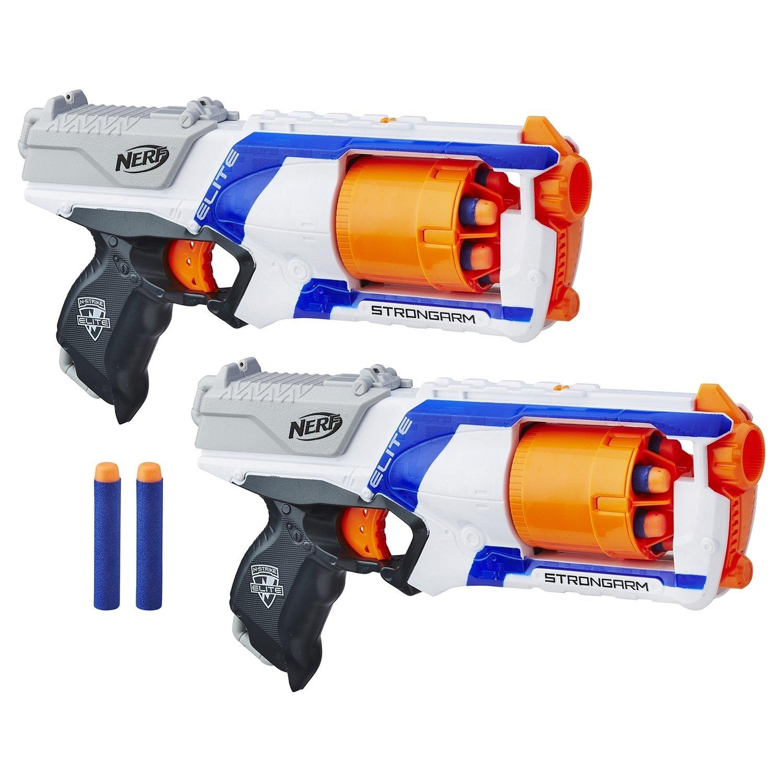 Nerf Стронгарм  набор 2 бластера+12стрел