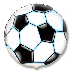 F Мини фигура Футбольный мяч (Черный), 14