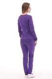 Спортивный костюм для беременных и кормящих 09975 фиолетовый