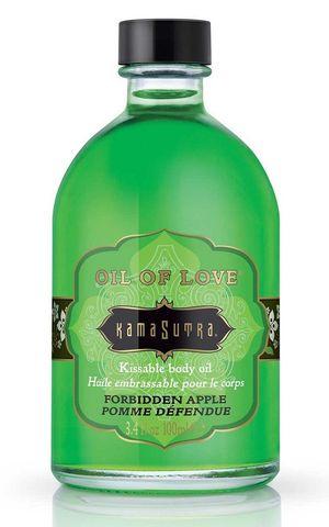 Массажное масло Kama Sutra - аромат яблока, 100 мл