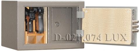 Пистолетный сейф D-02P.074 Lux