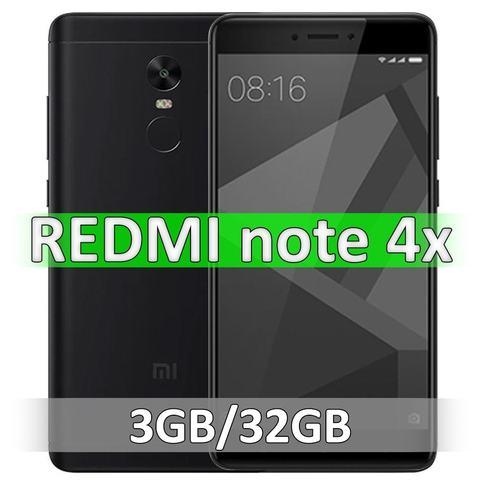 Xiaomi Redmi Note 4X (3-32Gb) Black