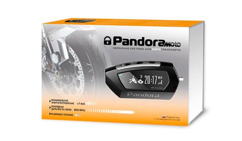 Сигнализация Pandora MOTO (model DX-42)