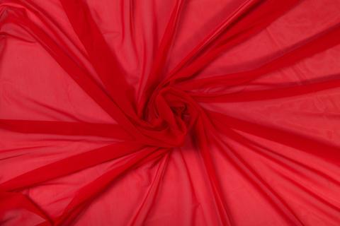 Сетка эластичная красная