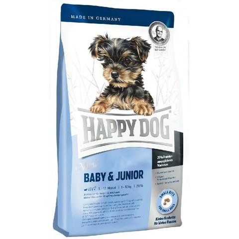 Happy Dog Supreme - Mini Baby & Junior сухой корм для собак щенков мелких пород 1 кг