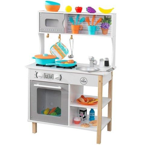 KidKraft Время игры серая - детская кухня 53370_KE