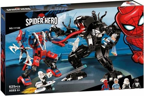 Конструктор 11188 Человек-паук против Венома ,625д