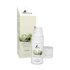 Sativa Крем для лица ночной №25 для нормального и комбинированного типа кожи