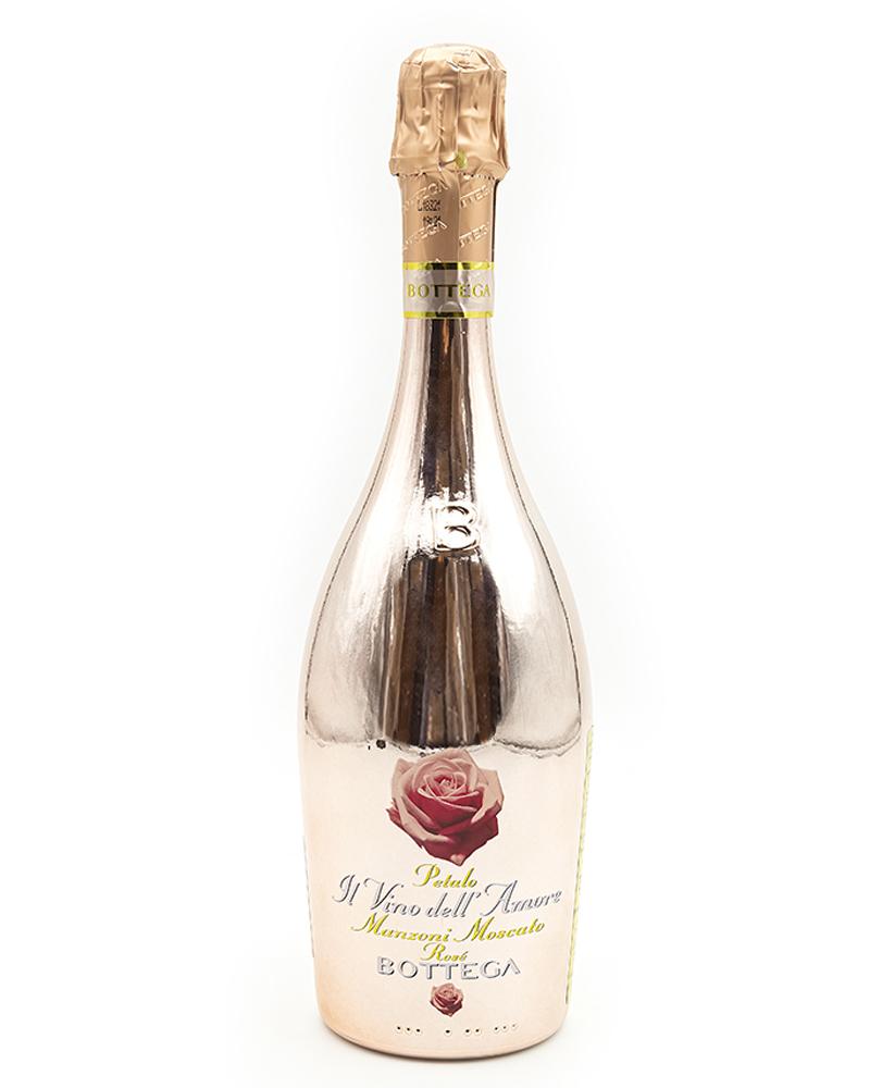 Вино Bottega Розовое Игристое Cладкое  Петало Пинк Манцони Москато  7%, 0,75л.