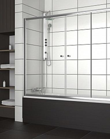 Шторка для ванны Vesta DW 1700*1500 хром/прозрачное 203170-01