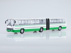 Ikarus-280.64 planetary doors Moscow white-green Soviet Bus 1:43