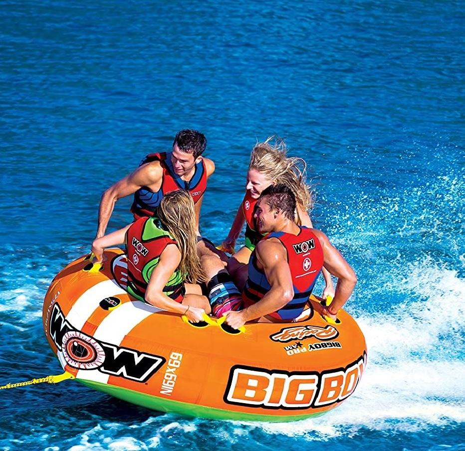 """Towable ski tube """"Big boy racing"""", 4 person"""