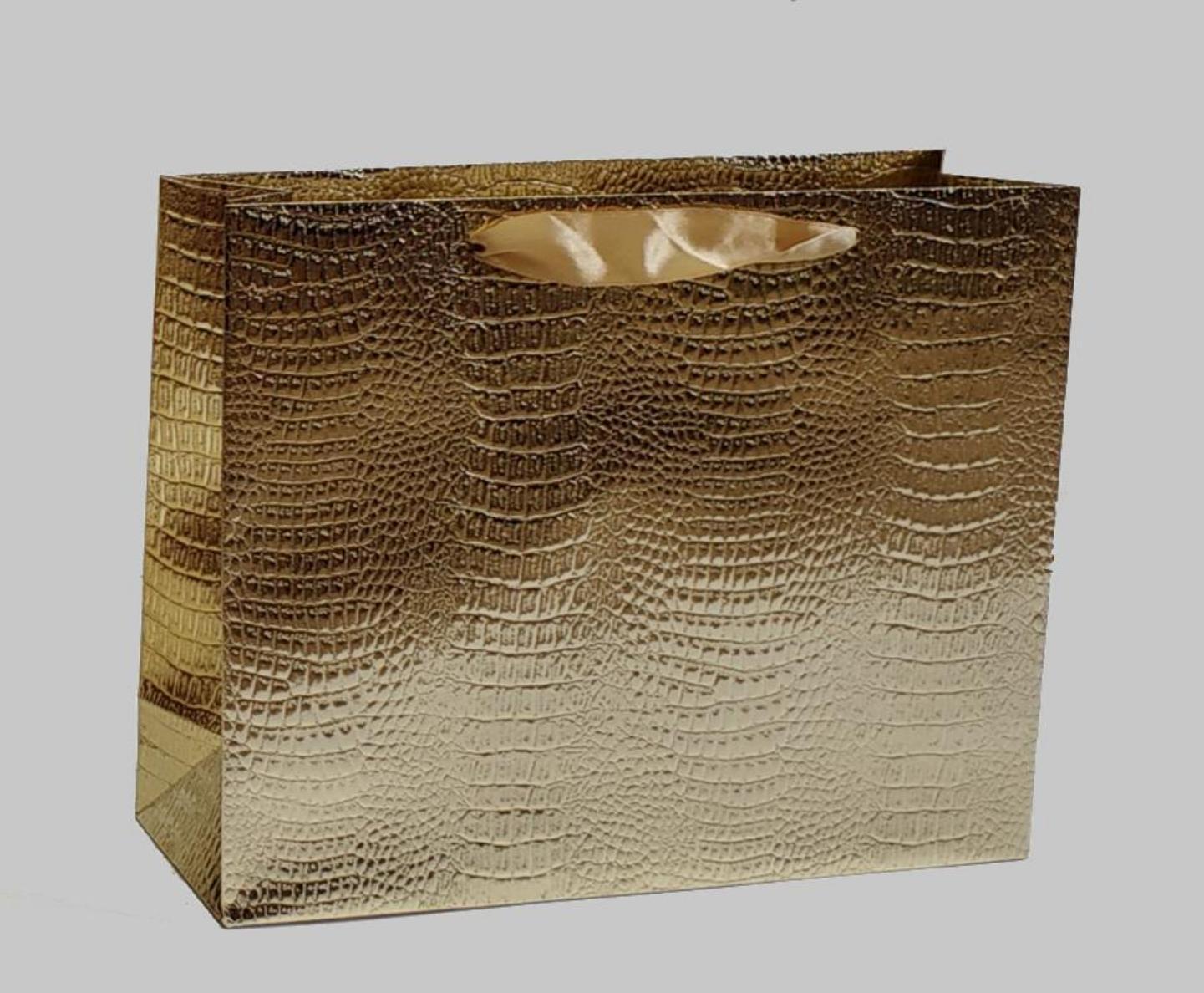 Подарочная упаковка Сумка-пакет 25x20x8см Cor Mulder Bag Croco 90453.JPG