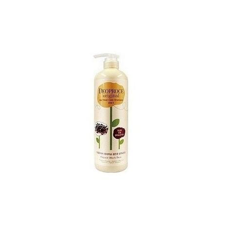 Шампунь-бальзам с черным чесноком от выпадения волос Deoproce Original Scalp Care Shampoo 2 in 1 Bla
