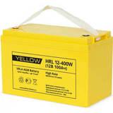 Аккумулятор YELLOW HRL 12-400W ( 12V 100Ah / 12В 100Ач ) - фотография