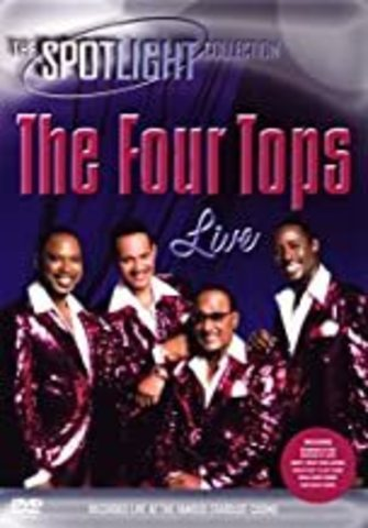 FOUR TOPS, THE: Live in Las Vegas