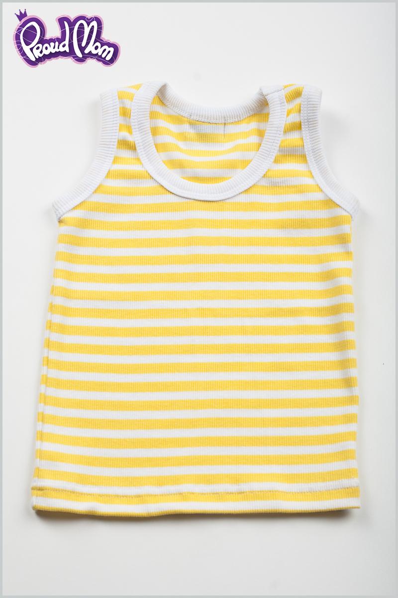 Детская маечка Легкость бытия желтая полоска - Фото 7