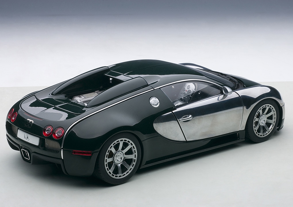 Коллекционная модель Bugatti EB Veyron 16.4 L`Edition Centenaire 2009 Racing Green