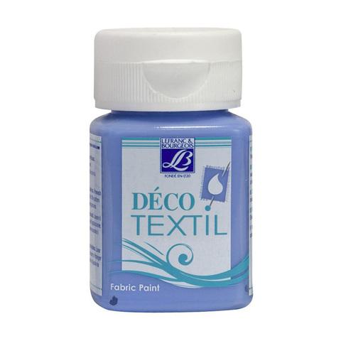 Краска по ткани Lefranc&Bourgeois DECO TEXTIL 50 мл 823, голубой колокольчик