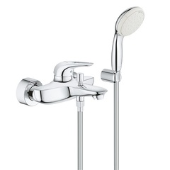 Смеситель для ванны с душевым набором Grohe Eurostyle 3359230A фото