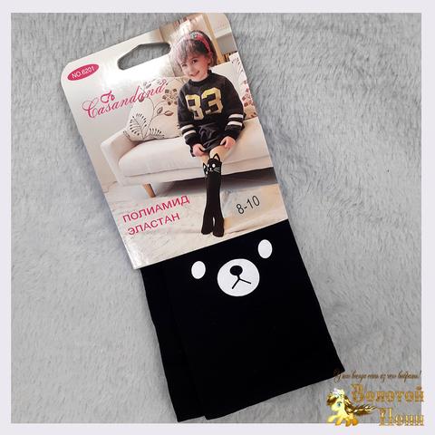 Колготки микрофибра Панда девочке (8-10) 210305-6201
