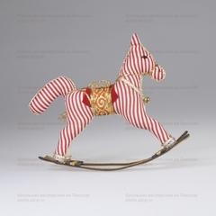Игрушка текстильная Лошадка-качалка