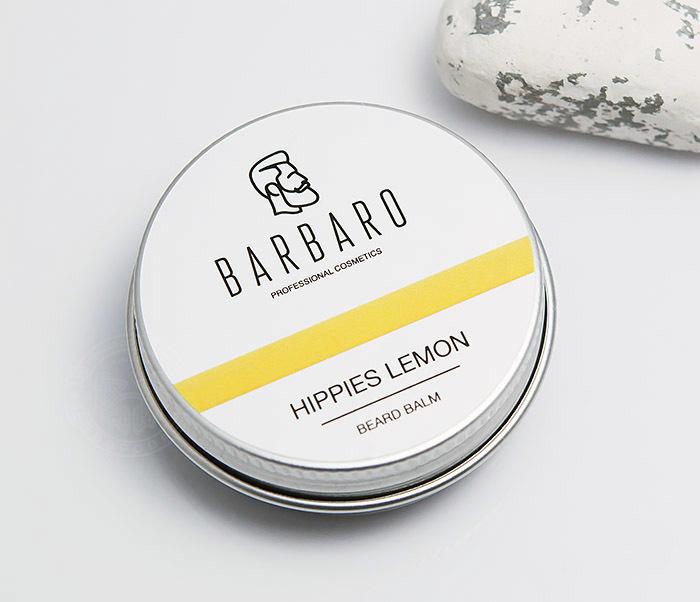 RAZ1001 Бальзам для бороды Barbaro «Hippies lemon», 30 мл
