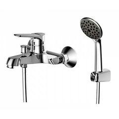 Смеситель для ванны с душевым набором Bravat Eco F6111147C-B фото