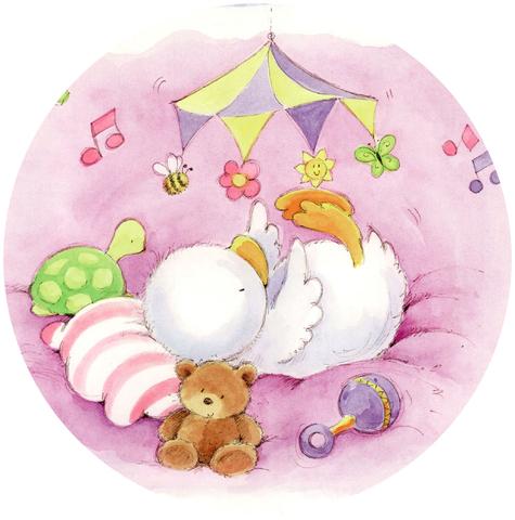 Печать на вафельной бумаге, С Новорожденным 11