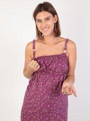 Euromama/Евромама. Комплект для беременных и кормящих лиловый, рукав 3/4 вид 4