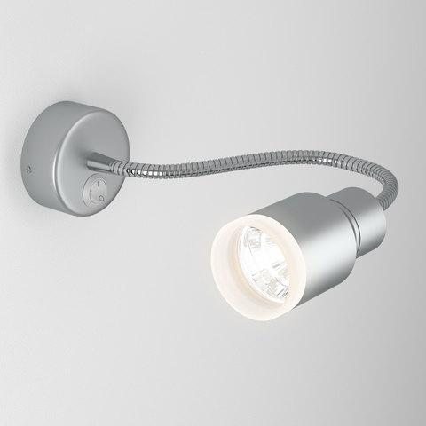 Molly LED серебро Светодиодный светильник с гибким основанием MRL LED 1015