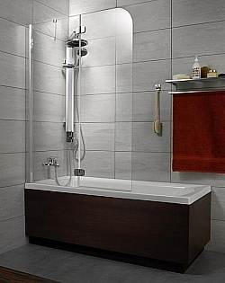 Шторка для ванны Torrenta PND/L 1210*1500 хром/тонированное/6мм 201203-105L