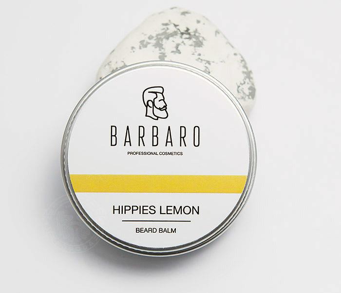 RAZ1001 Бальзам для бороды Barbaro «Hippies lemon», 30 мл фото 02