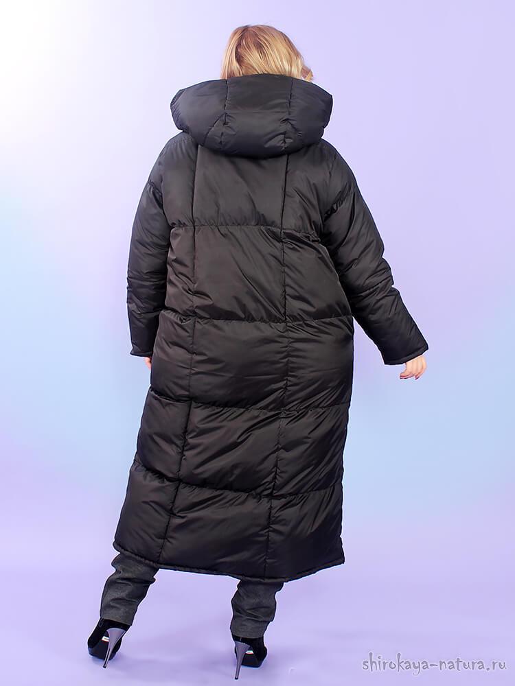 Пуховик-одеяло чёрный