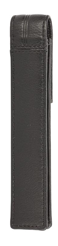 Чехол для ручки Cross, одинарный, кожаный, черный