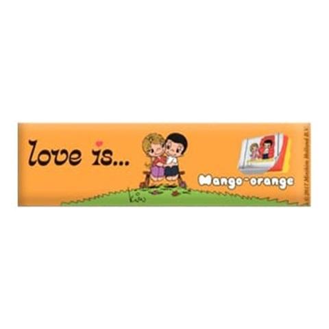 LOVE IS (В) жевательные конфеты  Манго-Апельсин 1кор*18бл*12шт, 25г
