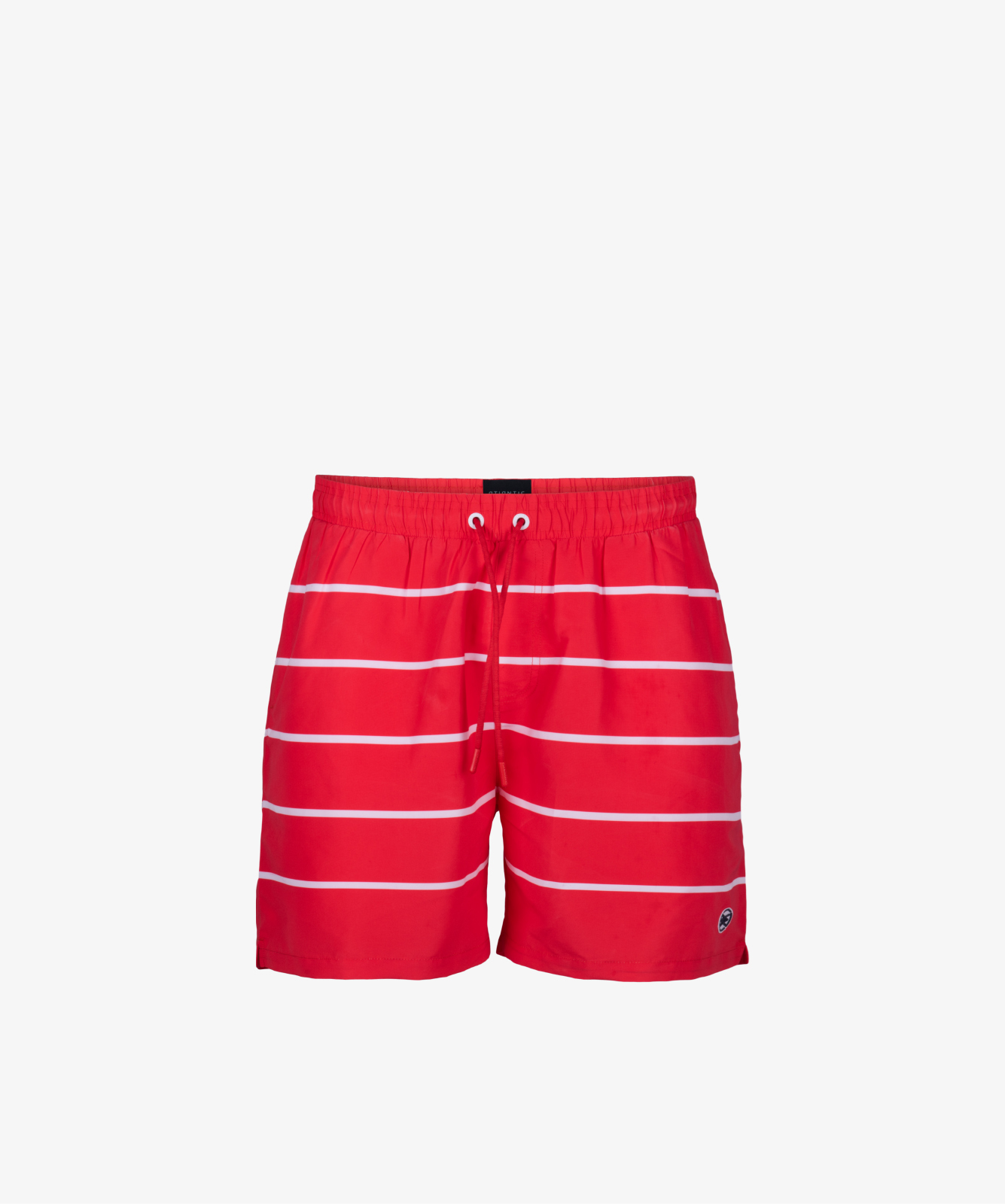 Пляжные шорты мужские Atlantic, 1 шт. в уп., полиэстер, красные, KMB-191