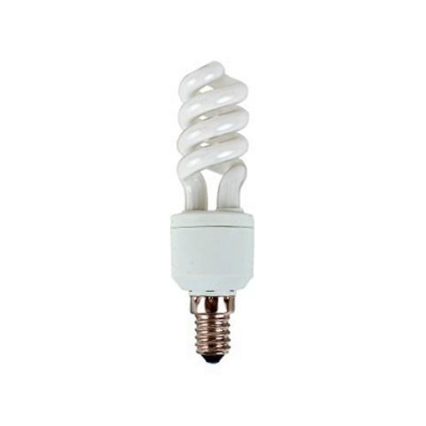 Лампа энергосберегающая КЛЛ-FSТ2-9 Вт-4000 К–Е14 (32х99 мм) TDM